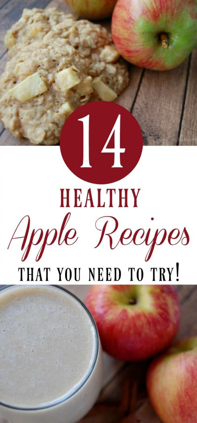 Healthy Apple Recipes That You Need to Try! - The ..
