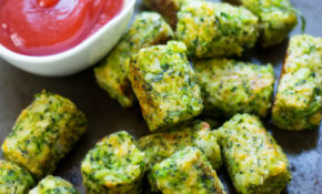 Healthy Baked Broccoli Tots – Healthy Recipes Pinterest