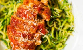 Healthy Baked Chicken Parmesan – Baked Chicken And Zucchini Recipes Easy
