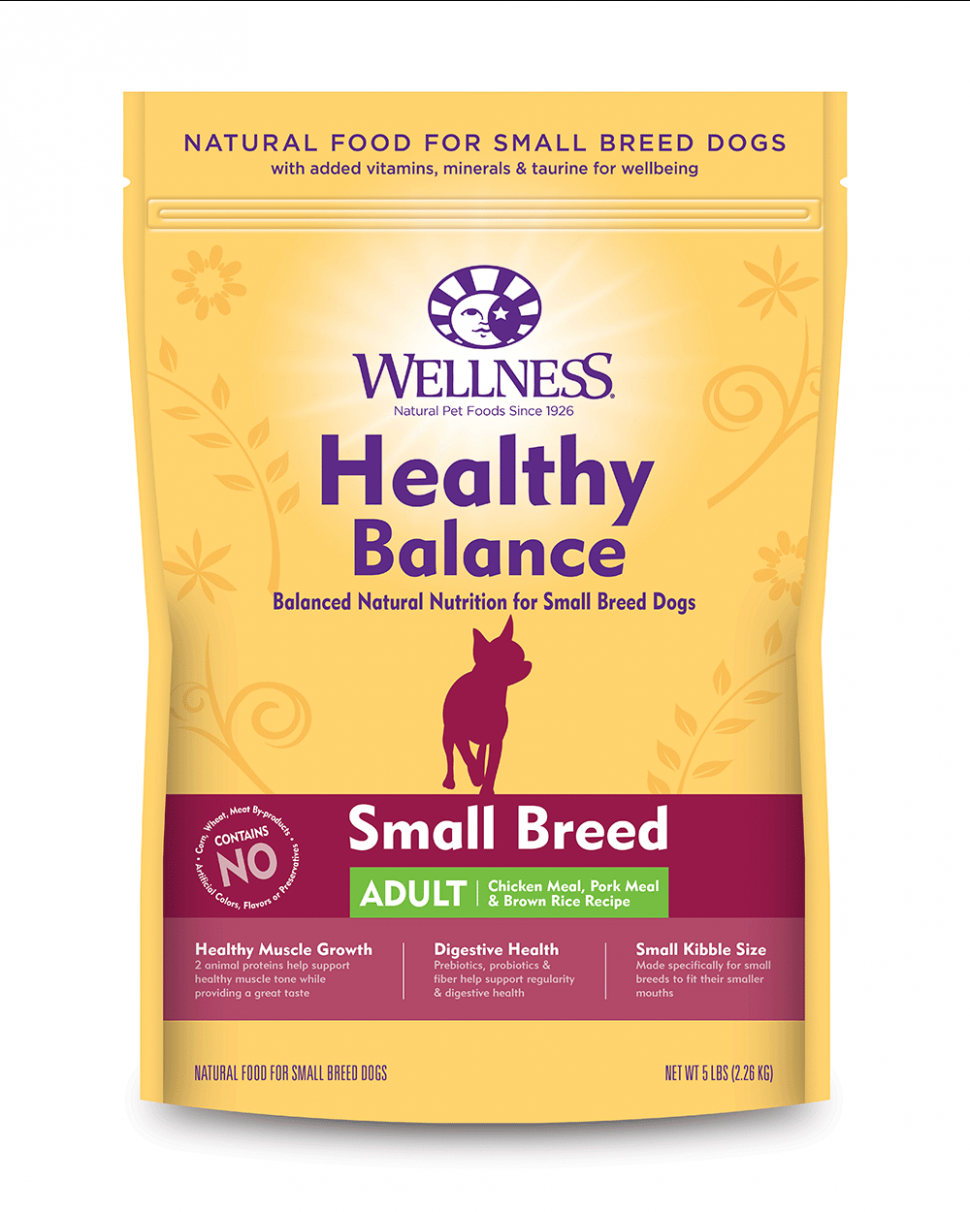 Healthy Balance Small Breed Adult Chicken Meal, Pork Meal ..