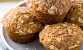 Healthy Banana Muffins With Oats – Healthy Recipes Muffins