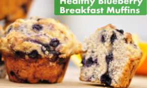 Healthy Blueberry Breakfast Muffins – The Vegetarian Ginger – Recipes Breakfast Muffins Healthy