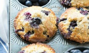 Healthy Blueberry Muffins – Dinner At The Zoo – Recipes Blueberry Muffins Healthy