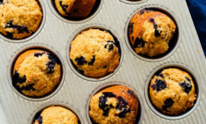 Healthy Blueberry Muffins Recipe – Cookie And Kate – Recipes Blueberry Muffins Healthy