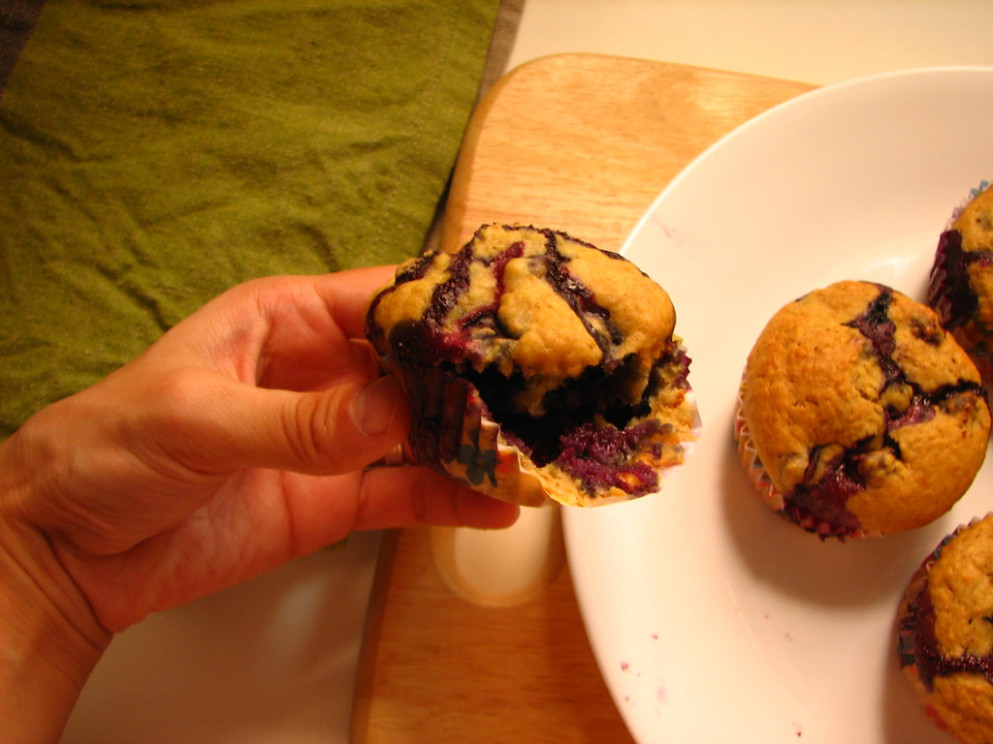 Healthy Blueberry Muffins - recipes blueberry muffins healthy