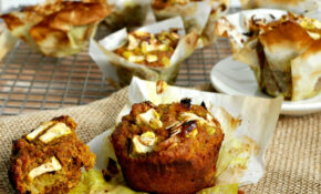 Healthy Breakfast Apple Muffins Recipe – Recipes Breakfast Muffins Healthy
