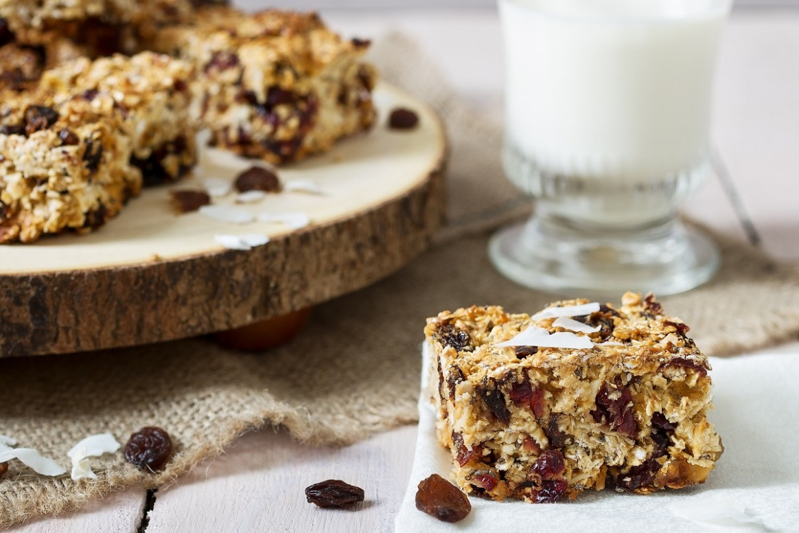 Healthy Breakfast Bars Recipe | Odlums - Recipes Breakfast Bars Healthy