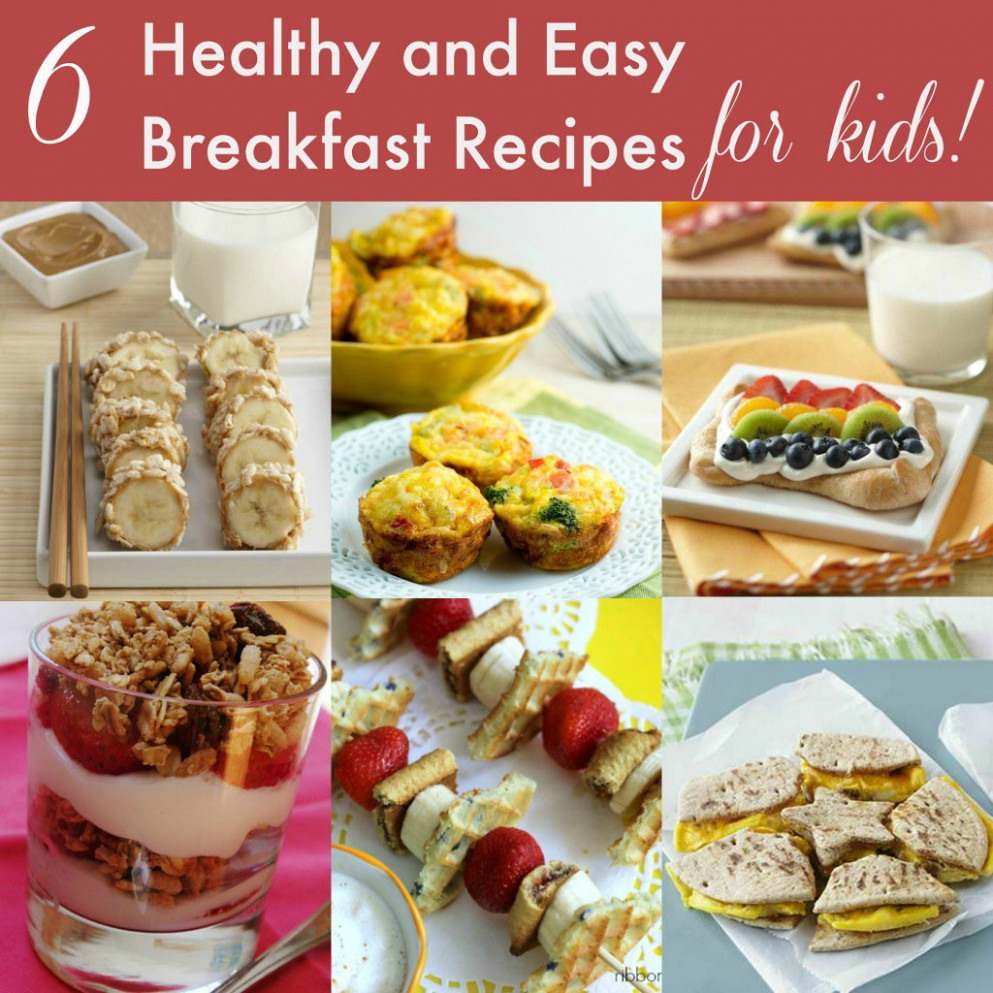 Healthy Breakfast Ideas for Kids - healthy recipes for breakfast
