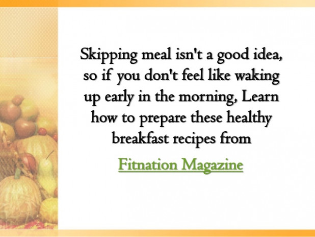 Healthy Breakfast Recipes You can Make the Night Before - dinner recipes you can make the night before