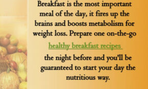 Healthy Breakfast Recipes You Can Make The Night Before – Dinner Recipes You Can Prepare The Night Before
