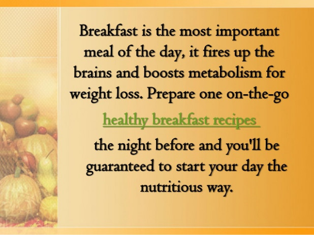 Healthy Breakfast Recipes You can Make the Night Before - dinner recipes you can prepare the night before