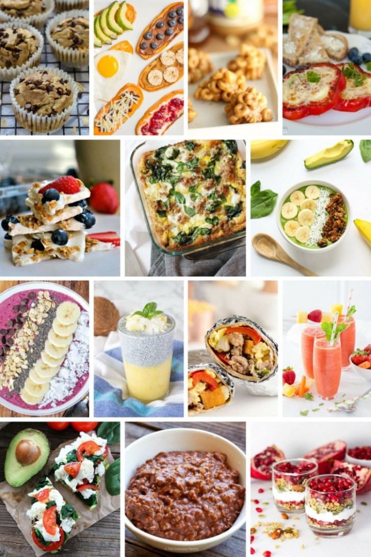 Healthy Breakfast Roundup - Six Clever Sisters - recipes of healthy breakfast