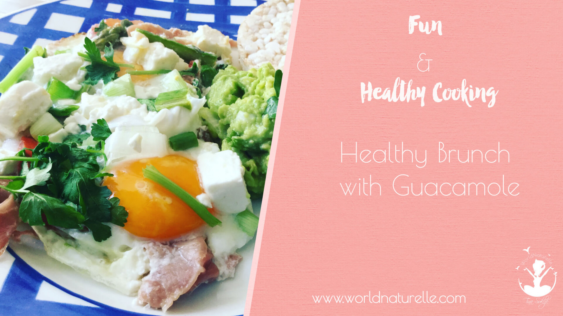 Healthy Brunch with Eggs and Guacamole | Tina Suklje - healthy recipes videos