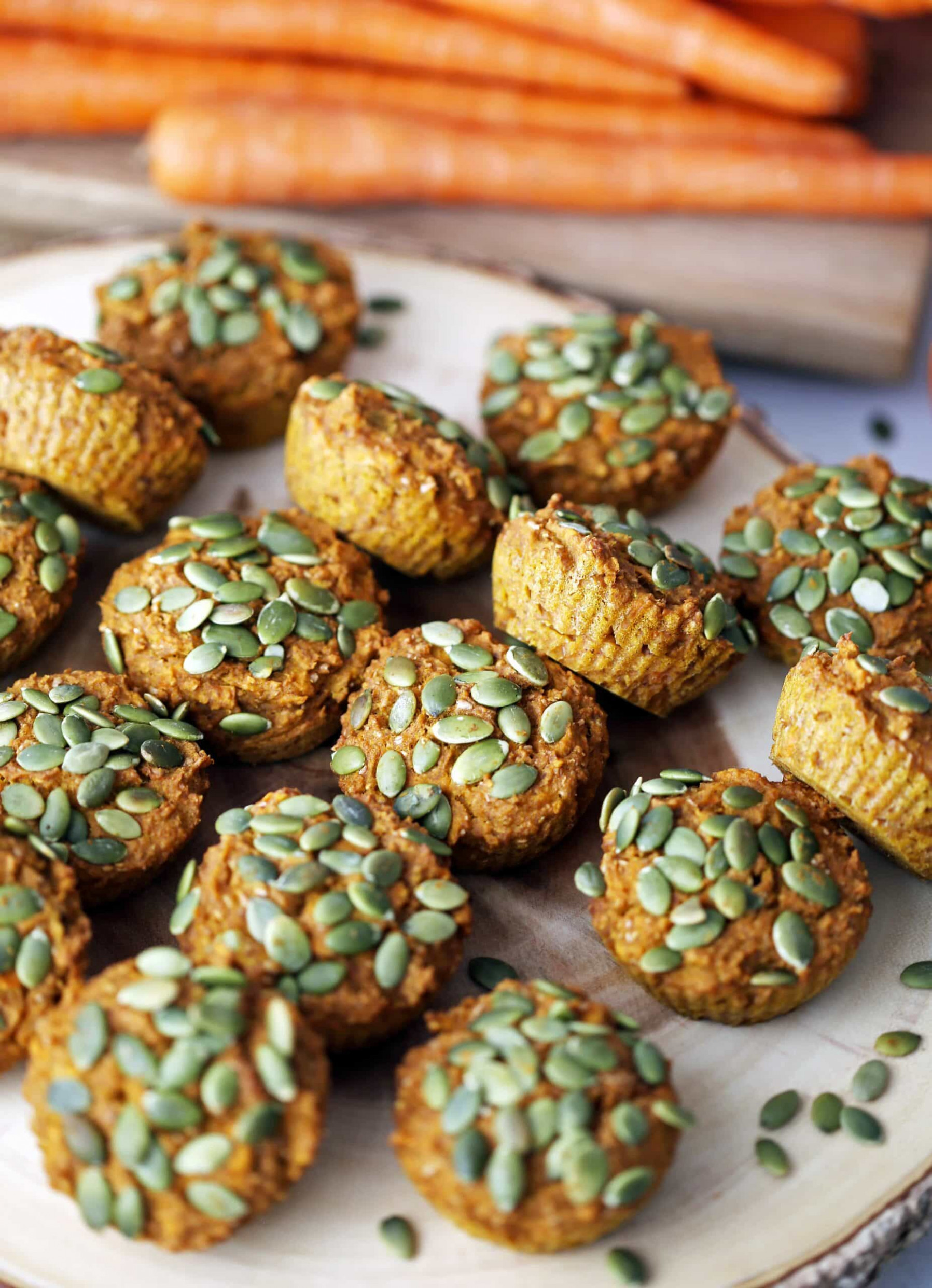 Healthy Carrot Pumpkin Muffins - Yay! For Food - recipes using pumpkin puree healthy