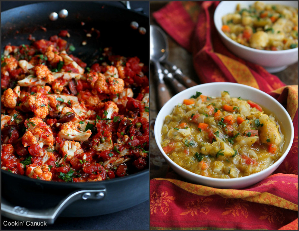 Healthy Cauliflower Recipes - healthy meal recipes