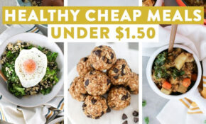 Healthy Cheap Meals Under $15