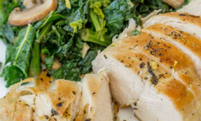 Healthy Chicken And Mushroom Skillet – Healthy Chicken And Kale Recipes
