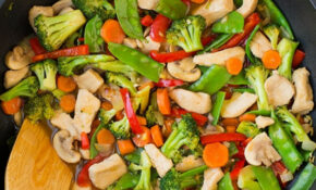 Healthy Chicken and Vegetable Stir-Fry Recipe - Cooking Classy