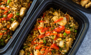 Healthy Chicken And Veggie Fried Rice Meal Prep – Vegetarian Rice Recipes Main Dish