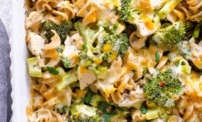 Healthy Chicken Broccoli Casserole – IFOODreal – Healthy ..