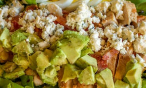Healthy Chicken Cobb Salad For One | Low Carb Yum | #LCHF ..