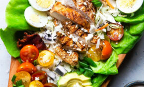 Healthy Chicken Cobb Salad Recipe | Food Faith Fitness – Healthy Recipes Salads