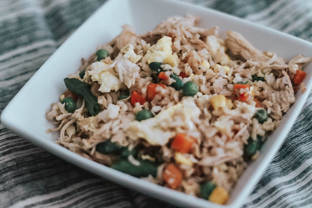 Healthy Chicken Fried Rice - Healthy Chicken And Rice Recipes