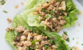 Healthy Chicken Lettuce Wraps | PF Changs Copy Cat Lettuce Wraps | 15 Day  Fix | 15B Mindset – Healthy Recipes Ground Chicken