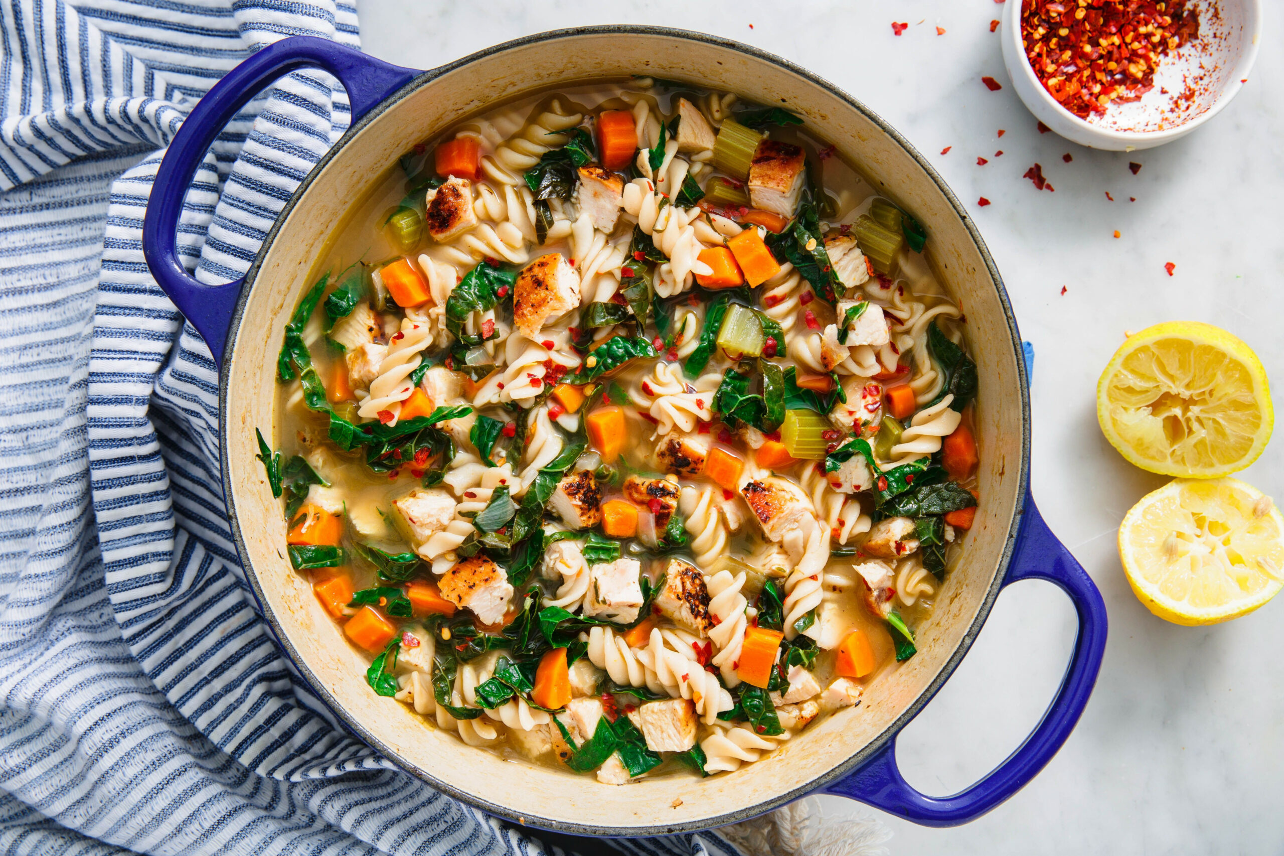 Healthy Chicken Noodle Soup - chicken recipes soup