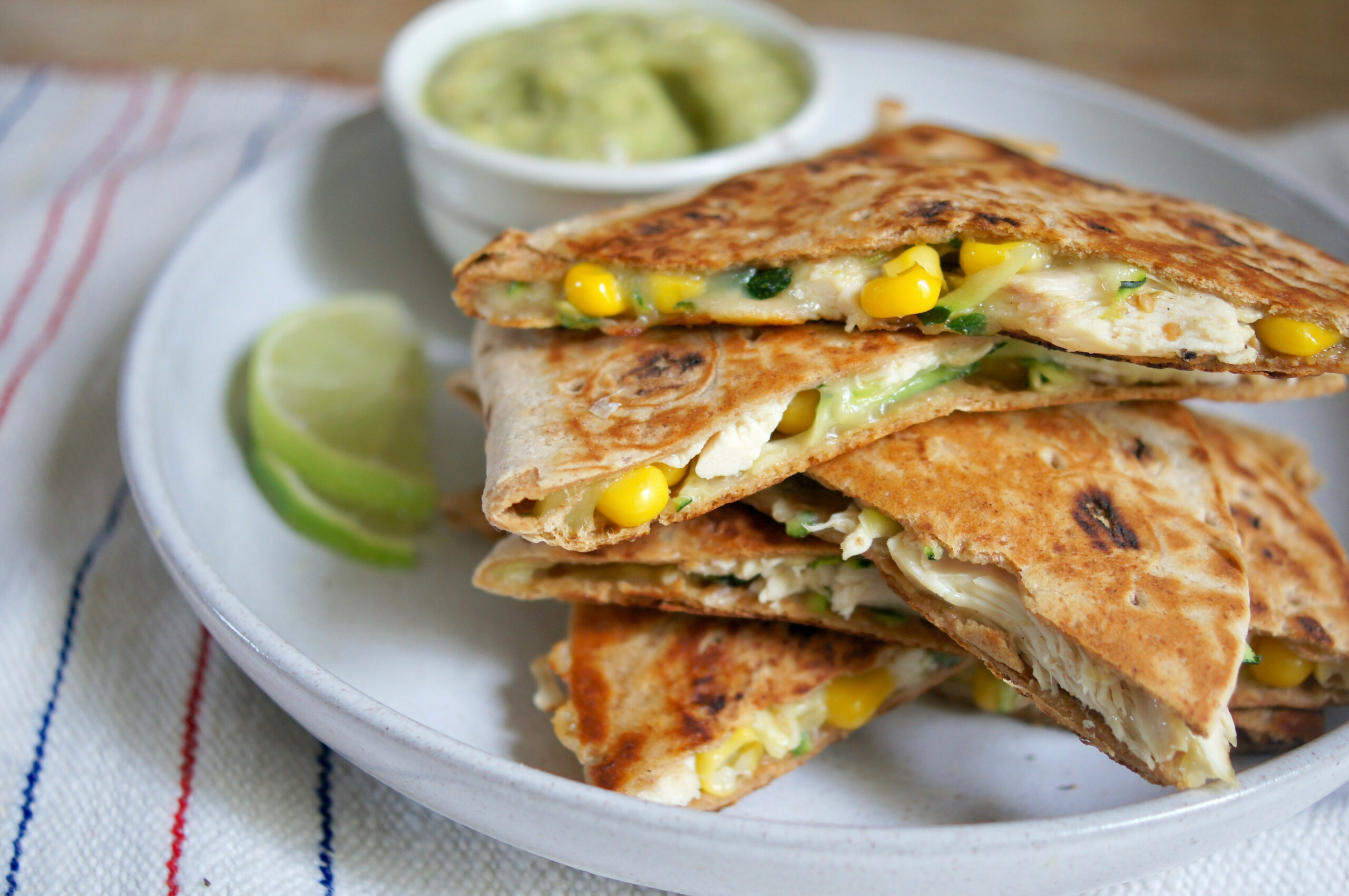 Healthy Chicken Quesadillas are Loaded with Vegetables with ..