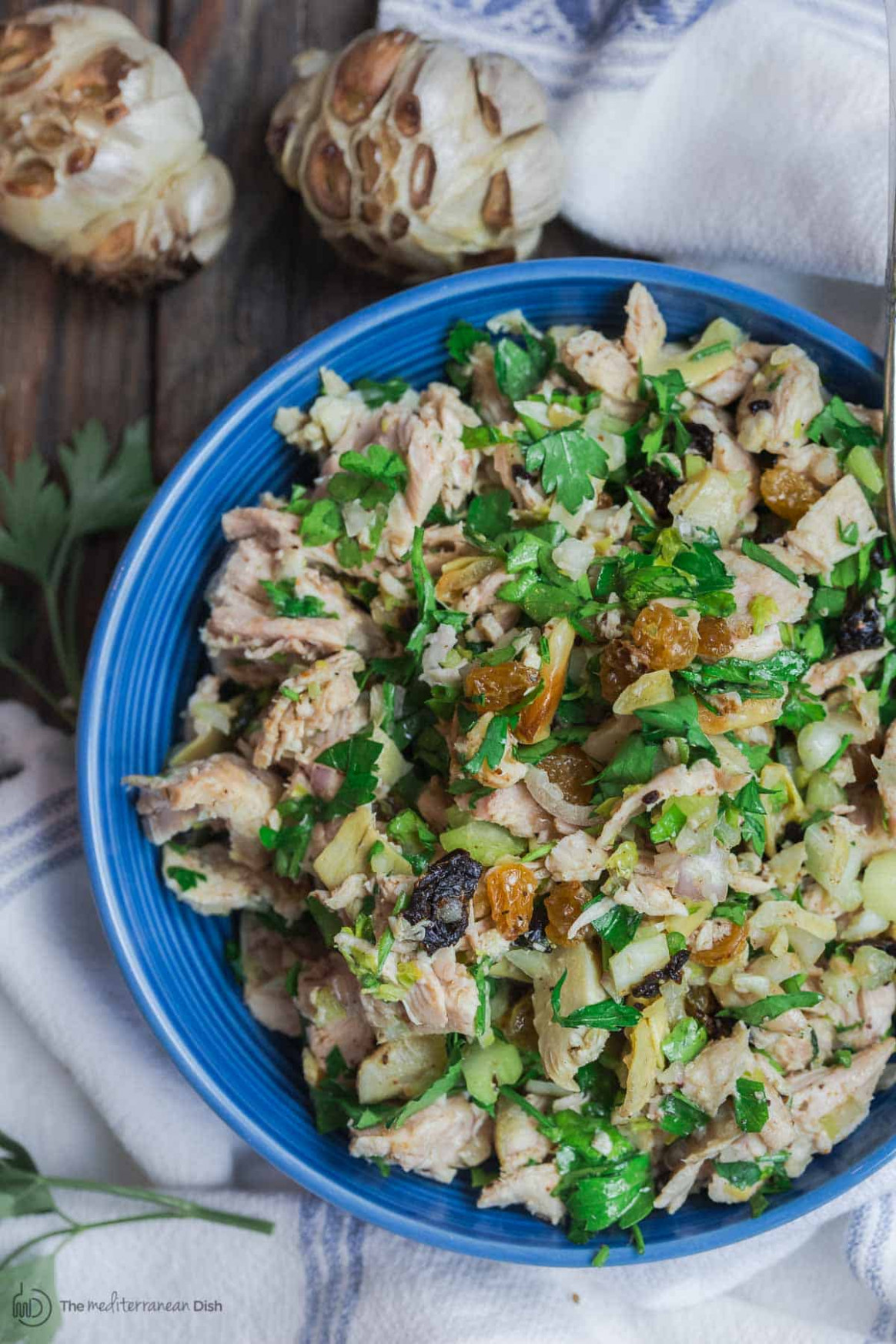 Healthy Chicken Salad, Mediterranean Style | The ..