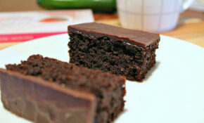 Healthy Chocolate Cake Recipe Made With Zucchini – Healthy Recipes Cakes