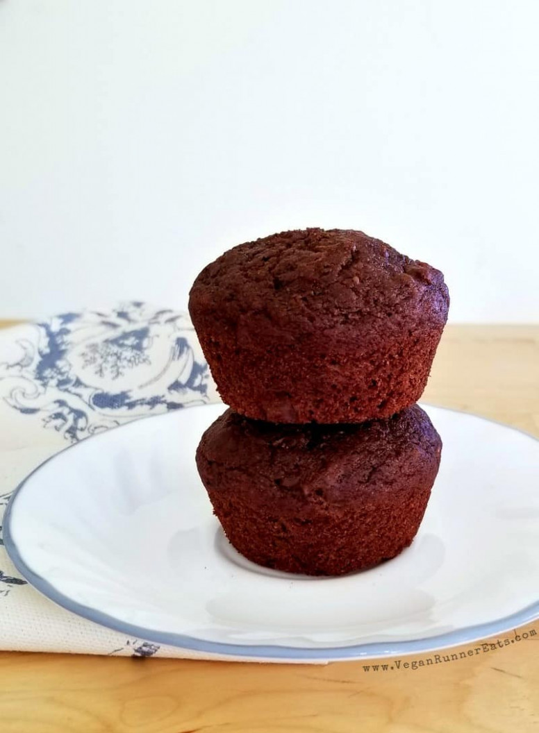 Healthy chocolate chip muffin recipe - dairy-free egg-free ..