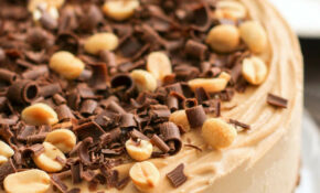 Healthy Chocolate Peanut Butter Raw Cheesecake – Recipes Baking Healthy