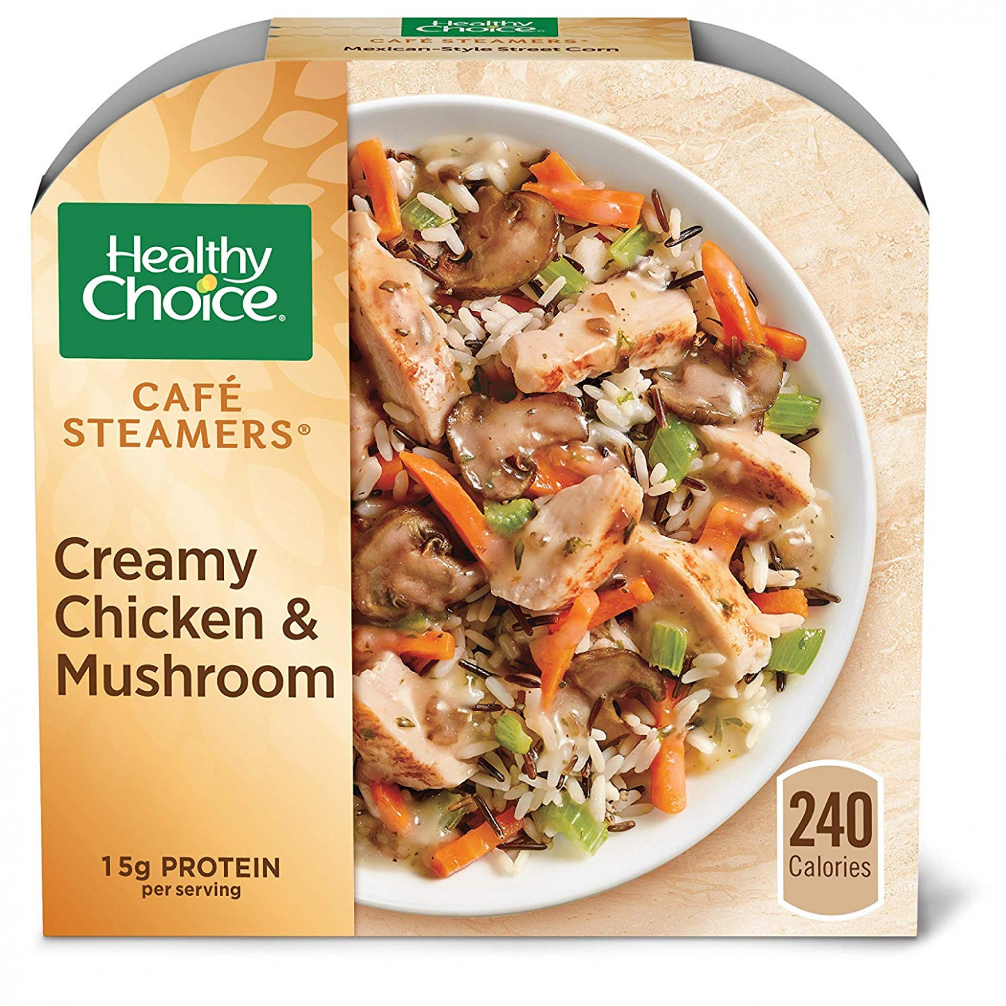 Healthy Choice Café Steamers Creamy Chicken Mushroom Frozen Meal, 11.11 Oz