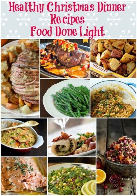 Healthy Christmas Dinner Recipe Round Up | !Food Done ..