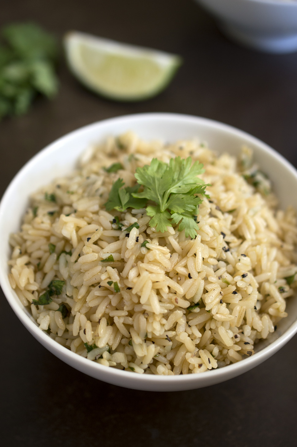 Healthy Cilantro & Lime Brown Rice - recipes brown rice healthy