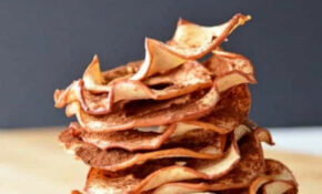 Healthy Cinnamon Apple Chips | Cook. Craft. Love