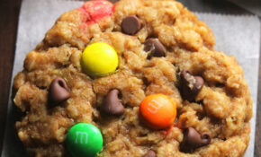 Healthy Classic Monster Cookies | Amy's Healthy Baking – Recipes Baking Healthy