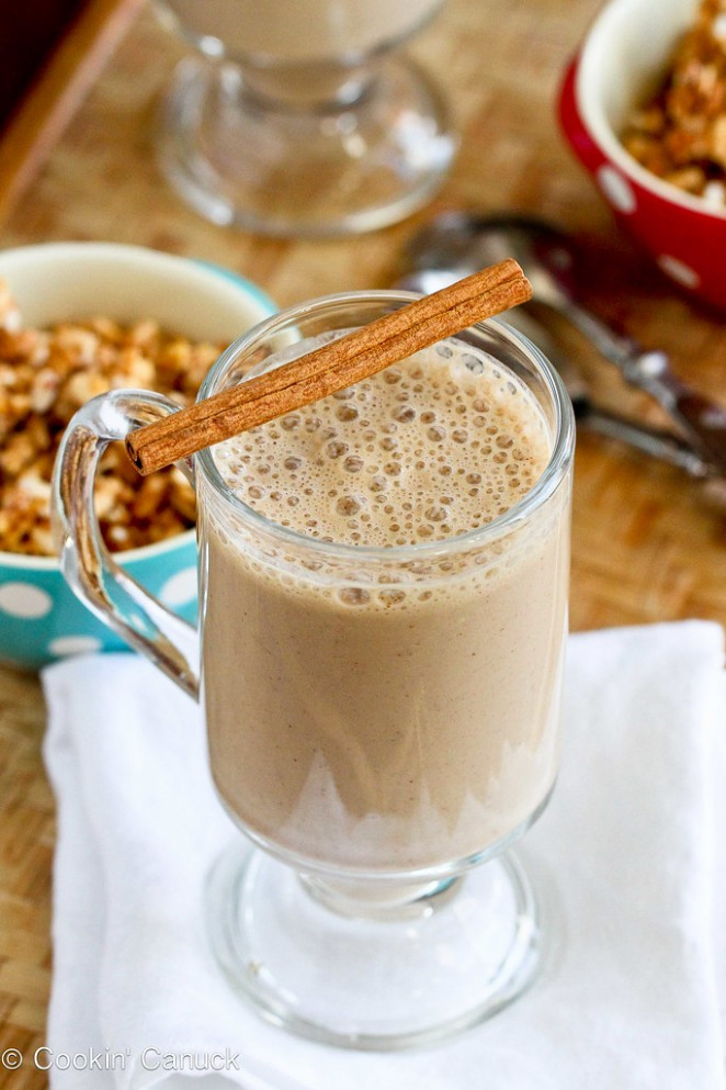 Healthy Coffee Banana Smoothie Recipe | www.cookincanuck