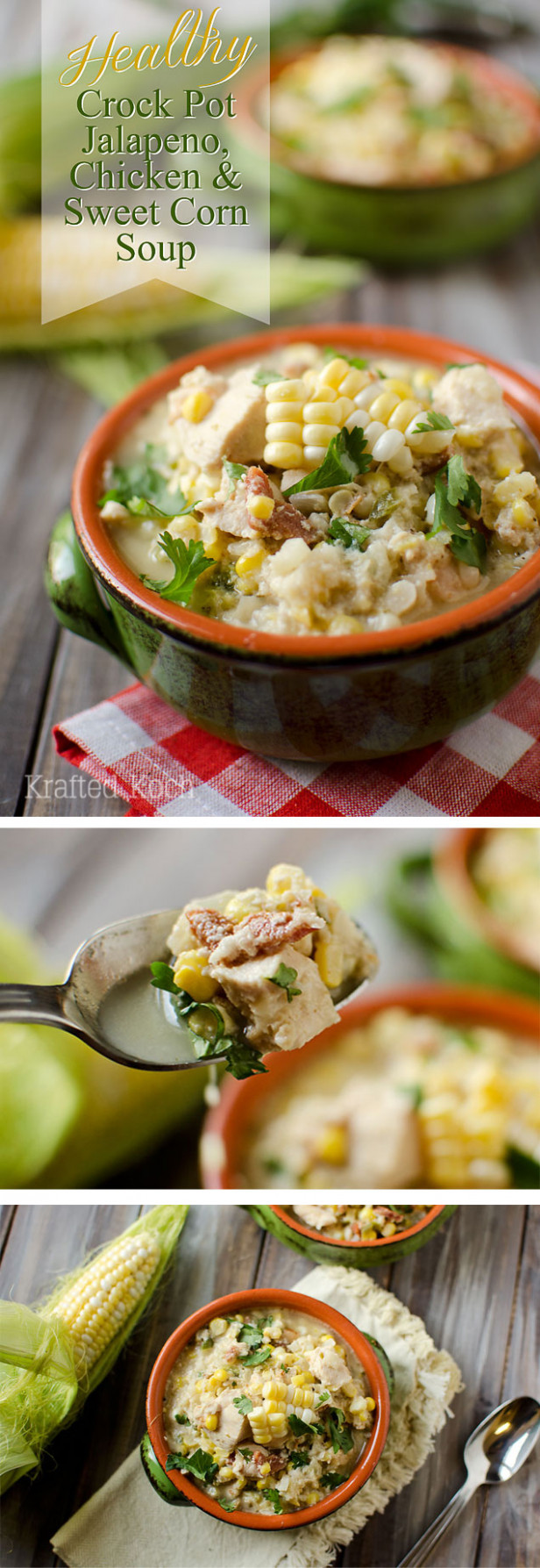 Healthy Crock Pot Jalapeno, Chicken & Sweet Corn Soup - recipes healthy crock pot