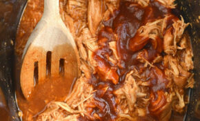 Healthy Crockpot BBQ Chicken
