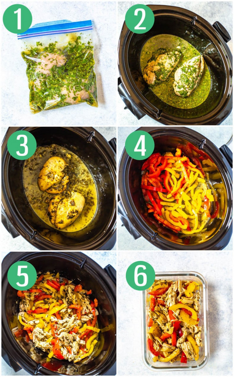 Healthy Crockpot Chicken Recipes 12 Ways - The Girl on Bloor - healthy crockpot recipes chicken
