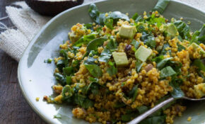 Healthy Curried Quinoa With Spinach And Avocado – Healthy Recipes Avocado