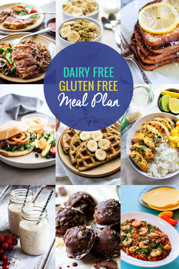 Healthy Dairy Free, Gluten-Free Meal Plan Recipes | Cotter ..