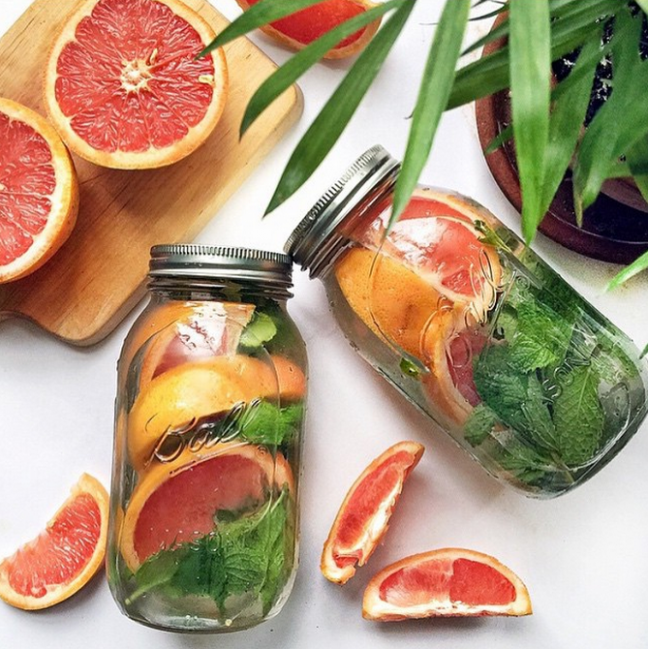 Healthy Detox Water Recipes From Instagram | StyleCaster - healthy recipes on instagram