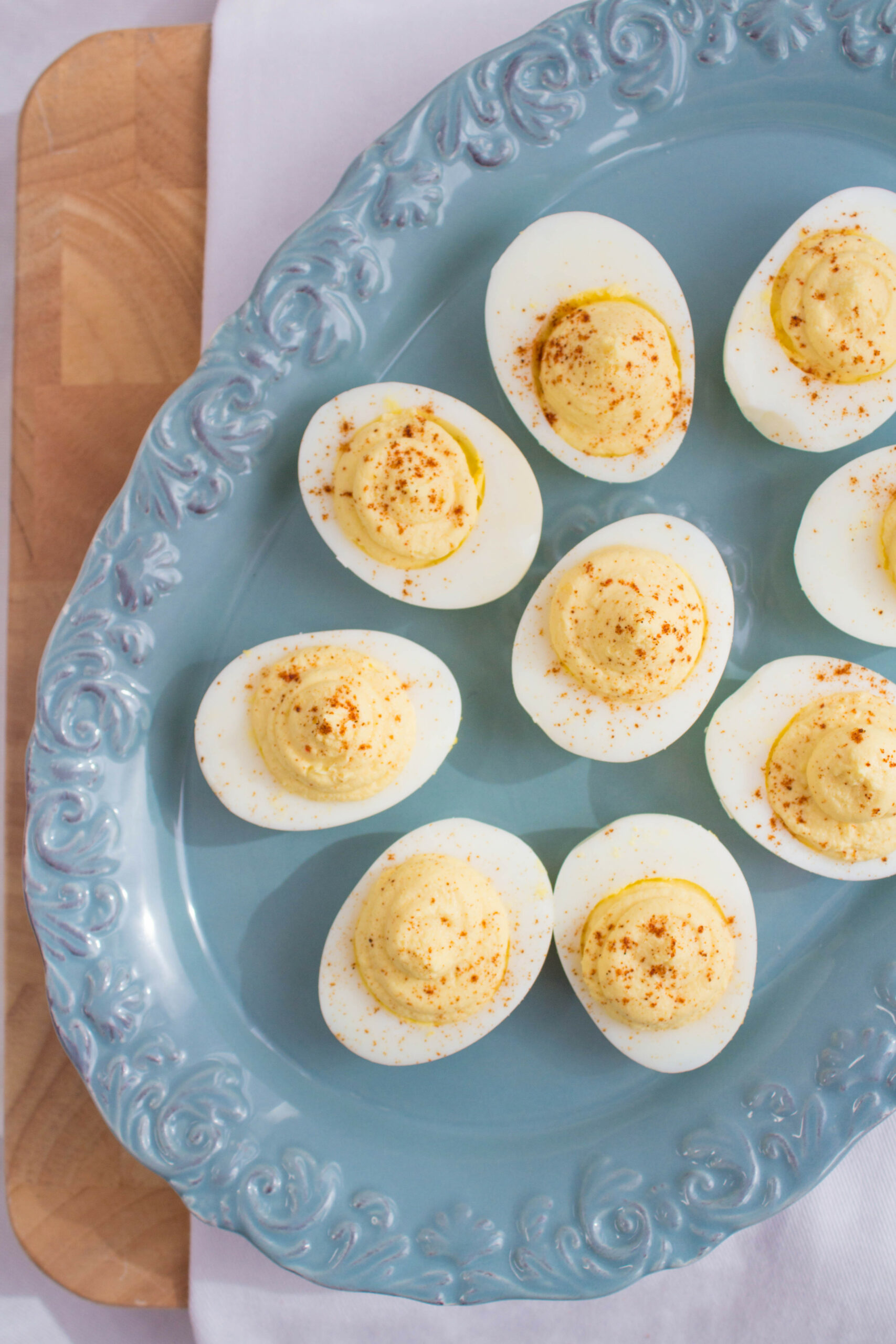 Healthy Deviled Eggs Recipe | Party & Picnic Recipe - recipes using egg yolks healthy