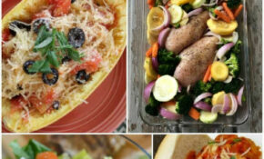 Healthy Dinner Menu Plan – 30 Quick And Easy Recipes – Healthy Recipes Dinner Easy