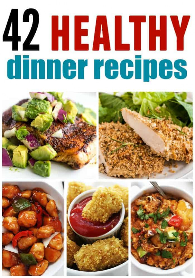 Healthy Dinner Roundup | The Recipe Critic - healthy recipes dinner