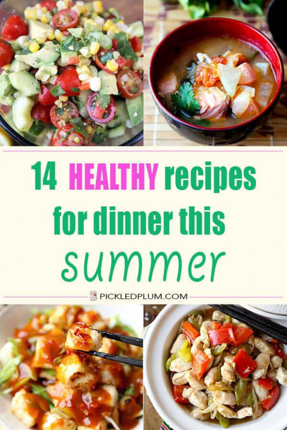 Healthy Dinners You Can Make At Home With Low Fat Chicken ..